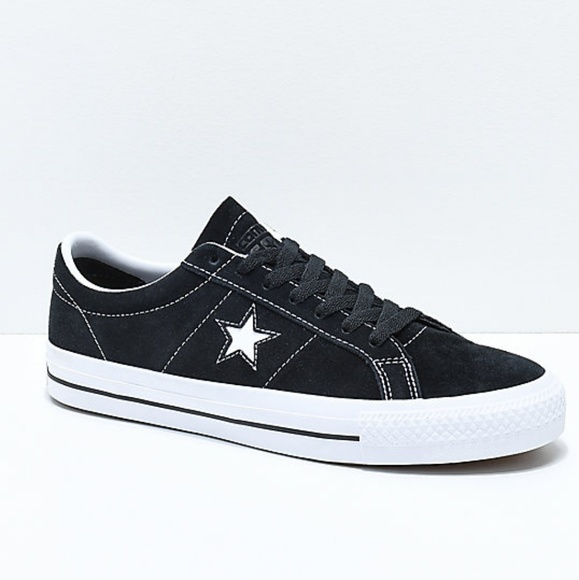 c1dbff4aaa93 Converse One Star Ox Black Suede